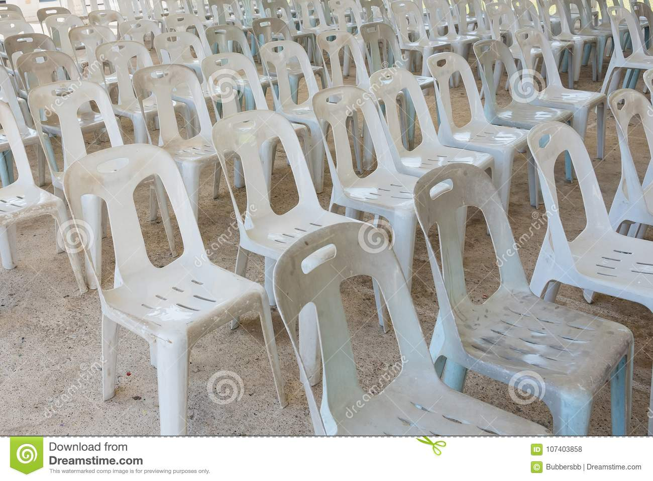 Swell White Plastic Chairs In Celebration And Outdoor Event Stock Uwap Interior Chair Design Uwaporg