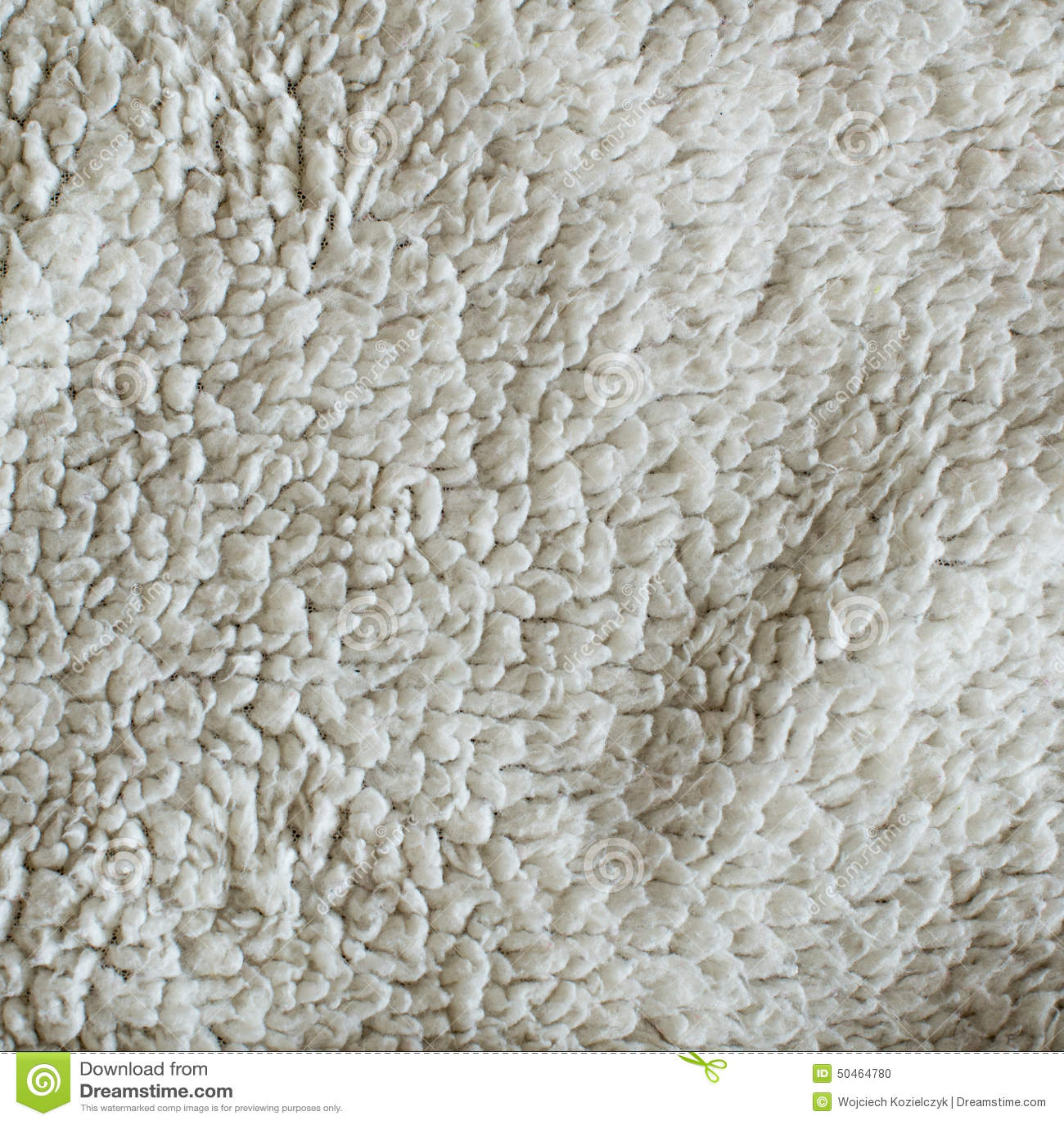 White Plush Blanket Texture Stock Photo Image of sheep fluff