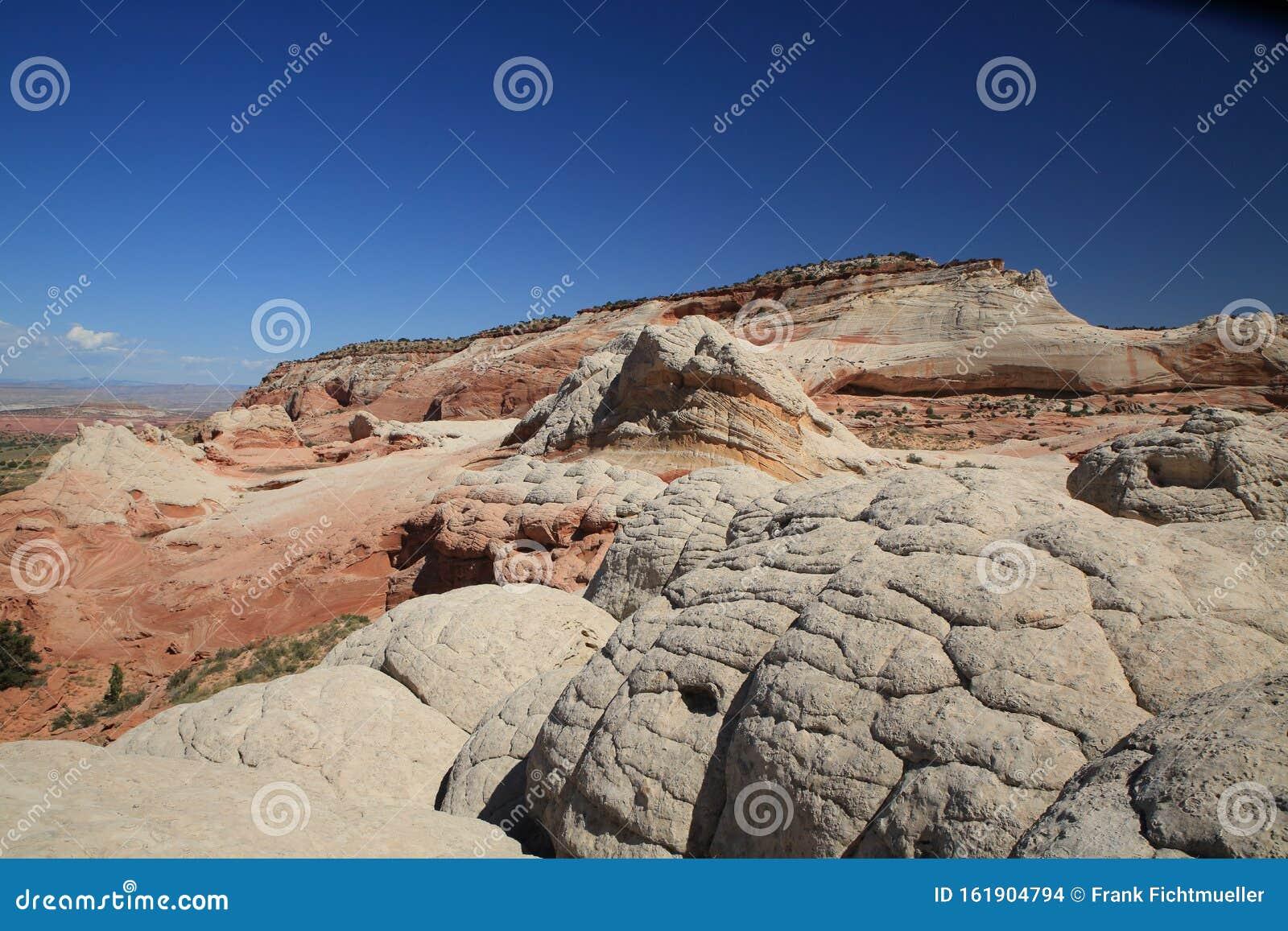 Vermillion Cliffs In Arizona Stock Image - Image of