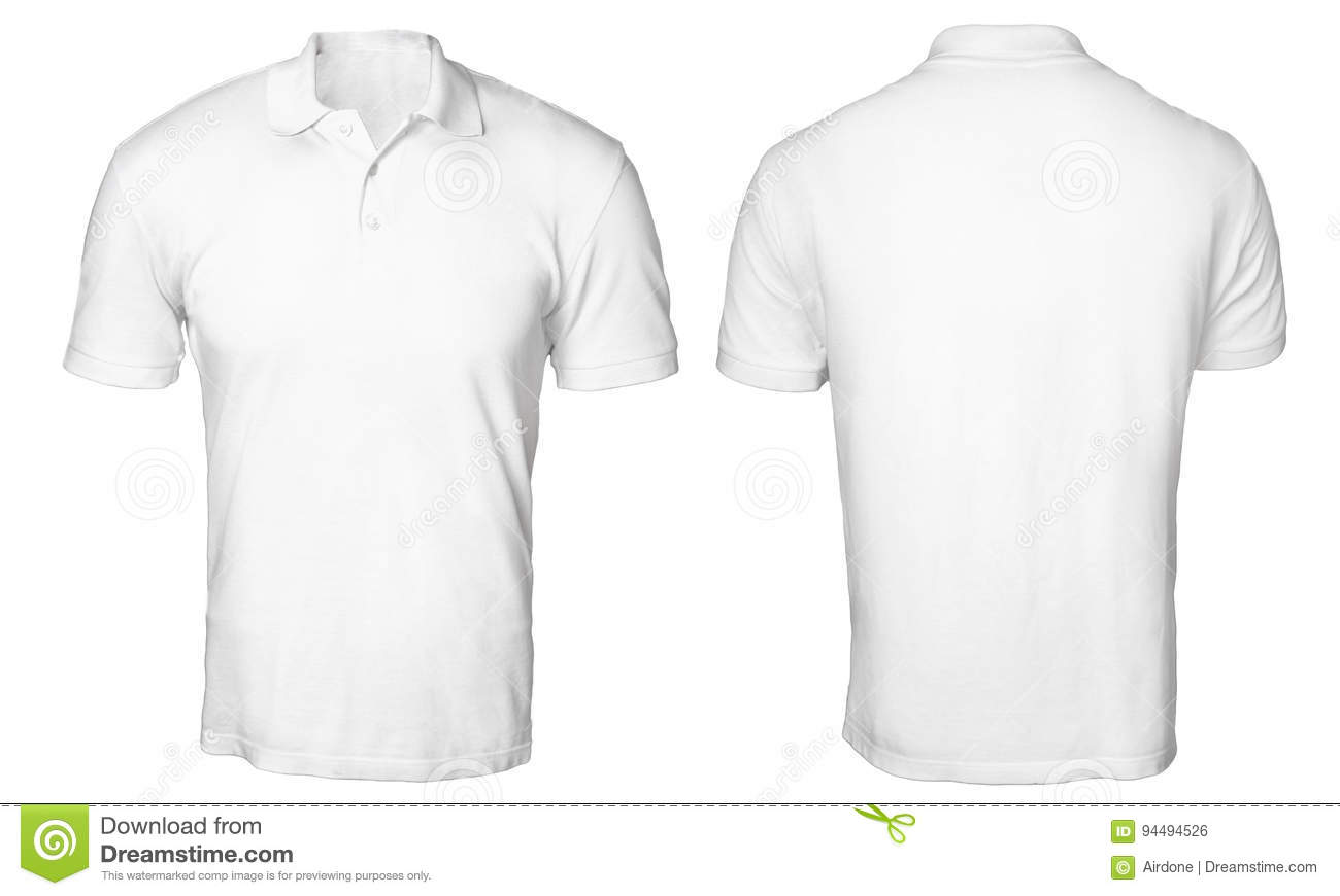 White polo shirt mock up stock photo image of male for Free polo shirt mockup