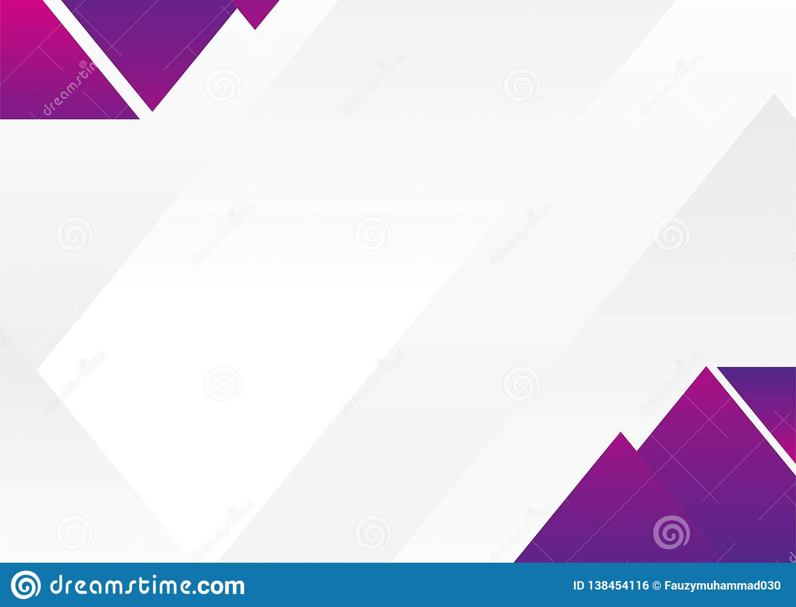 White And Purple Abstract Background Design Stock Vector