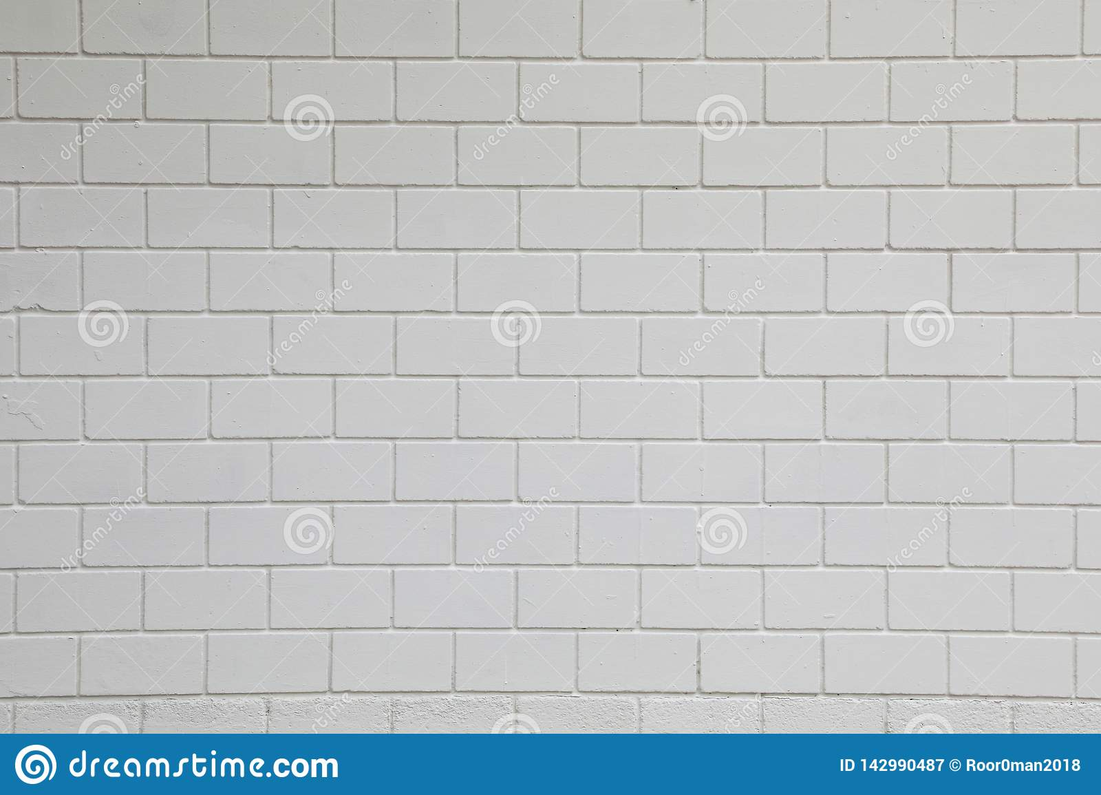 - White Rectangular Wall Stone Stock Image - Image Of Abstract