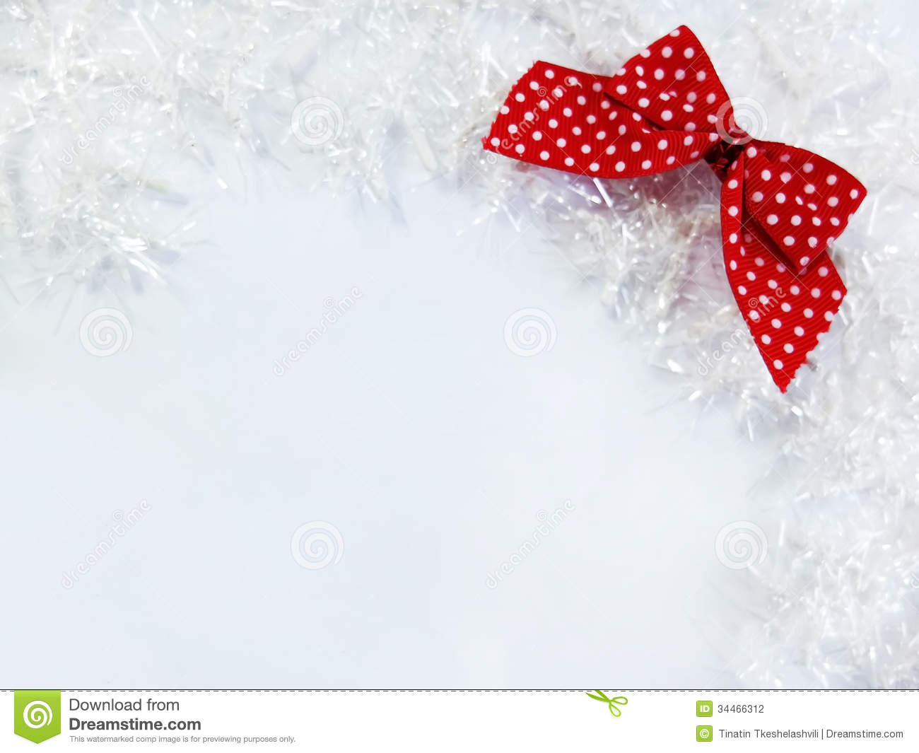 White and red christmas decoration stock photo image for Christmas red and white