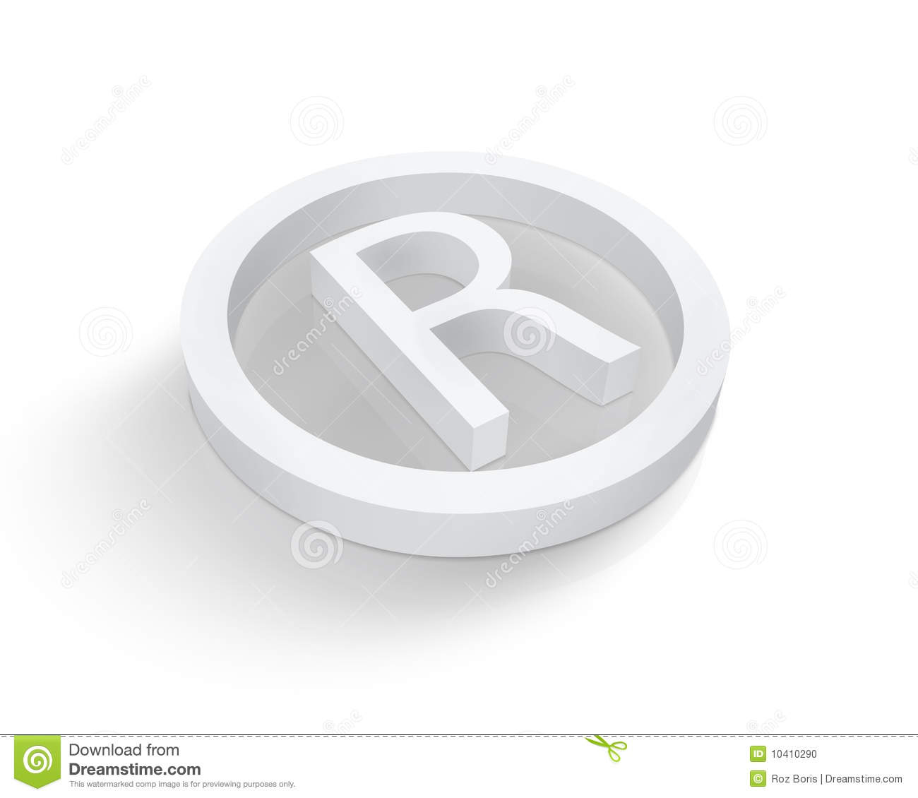 how to create registered trademark symbol