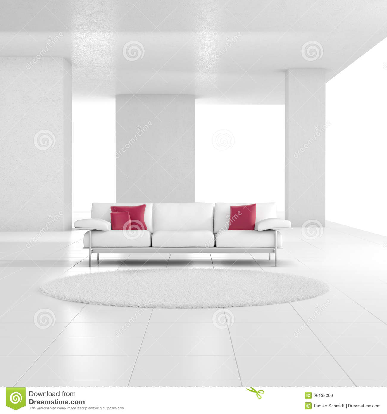 White room with carpet