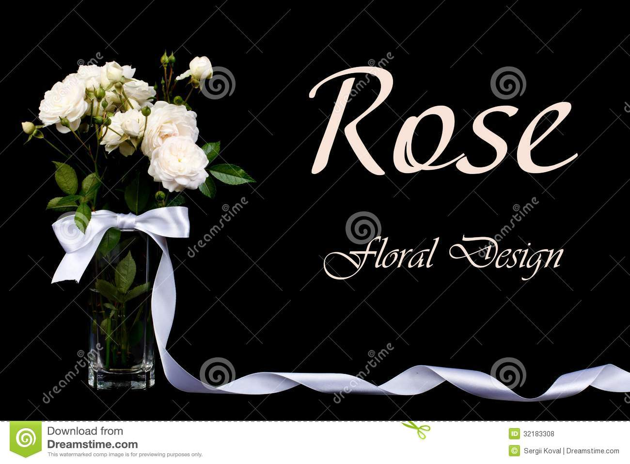 White roses in a vase with a bow on a black stock photo image of white roses in a vase with a bow on a black reviewsmspy