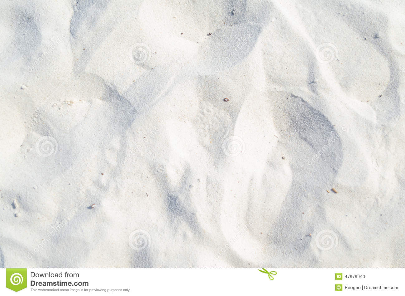 White Sand Beach Background