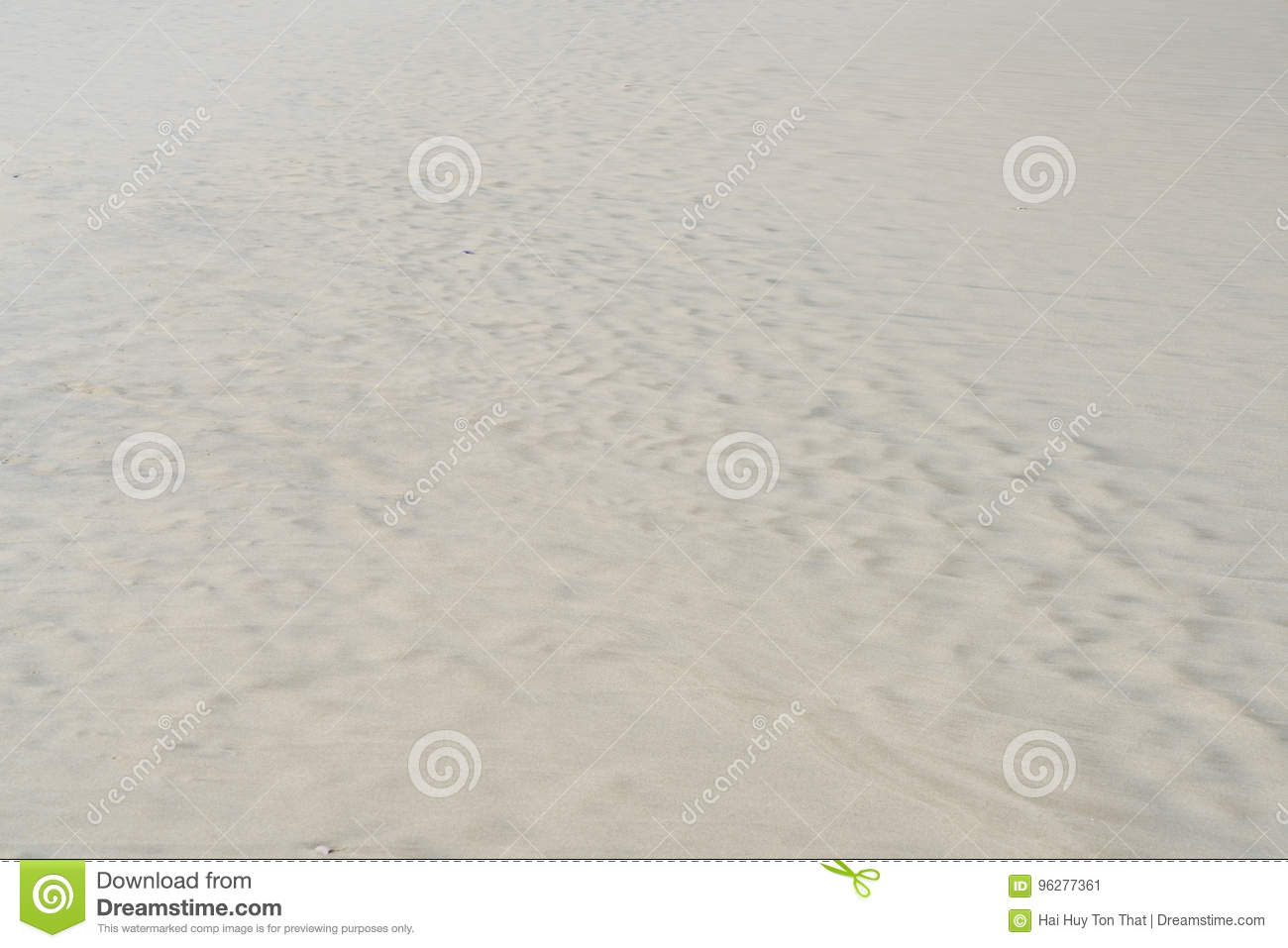 White Sand beach for background and texture