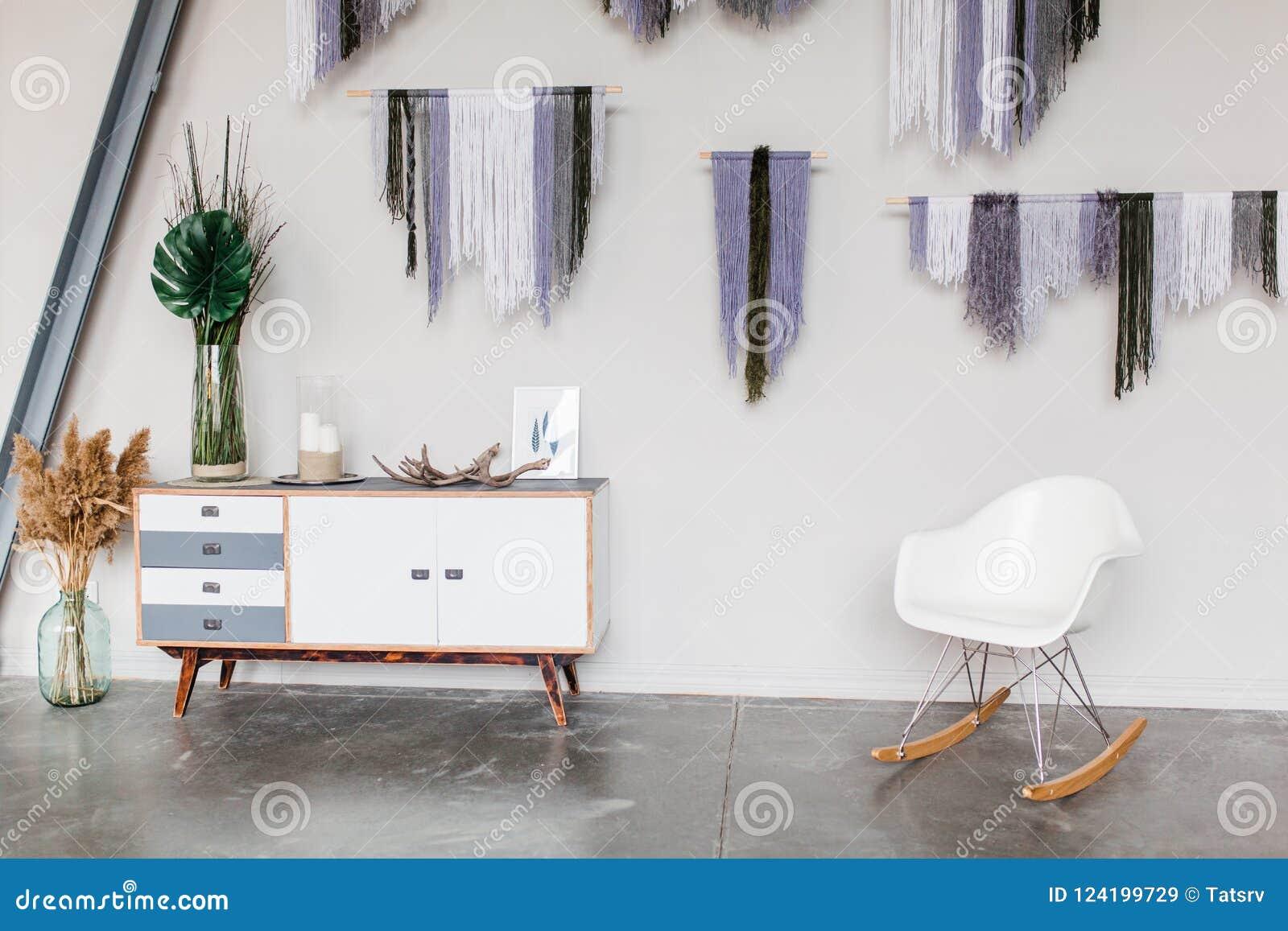 Pleasant White Scandinavian Interior Decor Closeup White Chair Theyellowbook Wood Chair Design Ideas Theyellowbookinfo