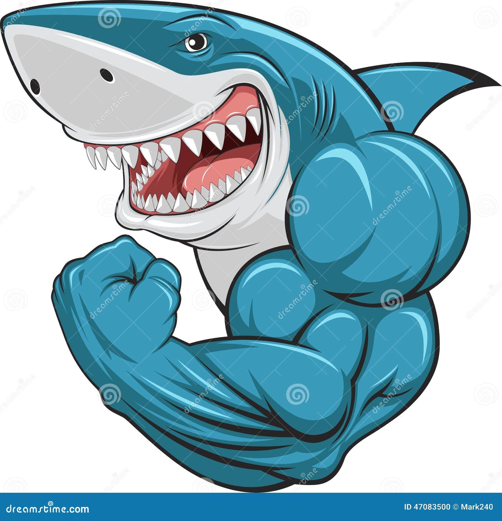 white shark stock vector image 47083500 shark fin clip art silhouette Shark Fin Clip Art Outline