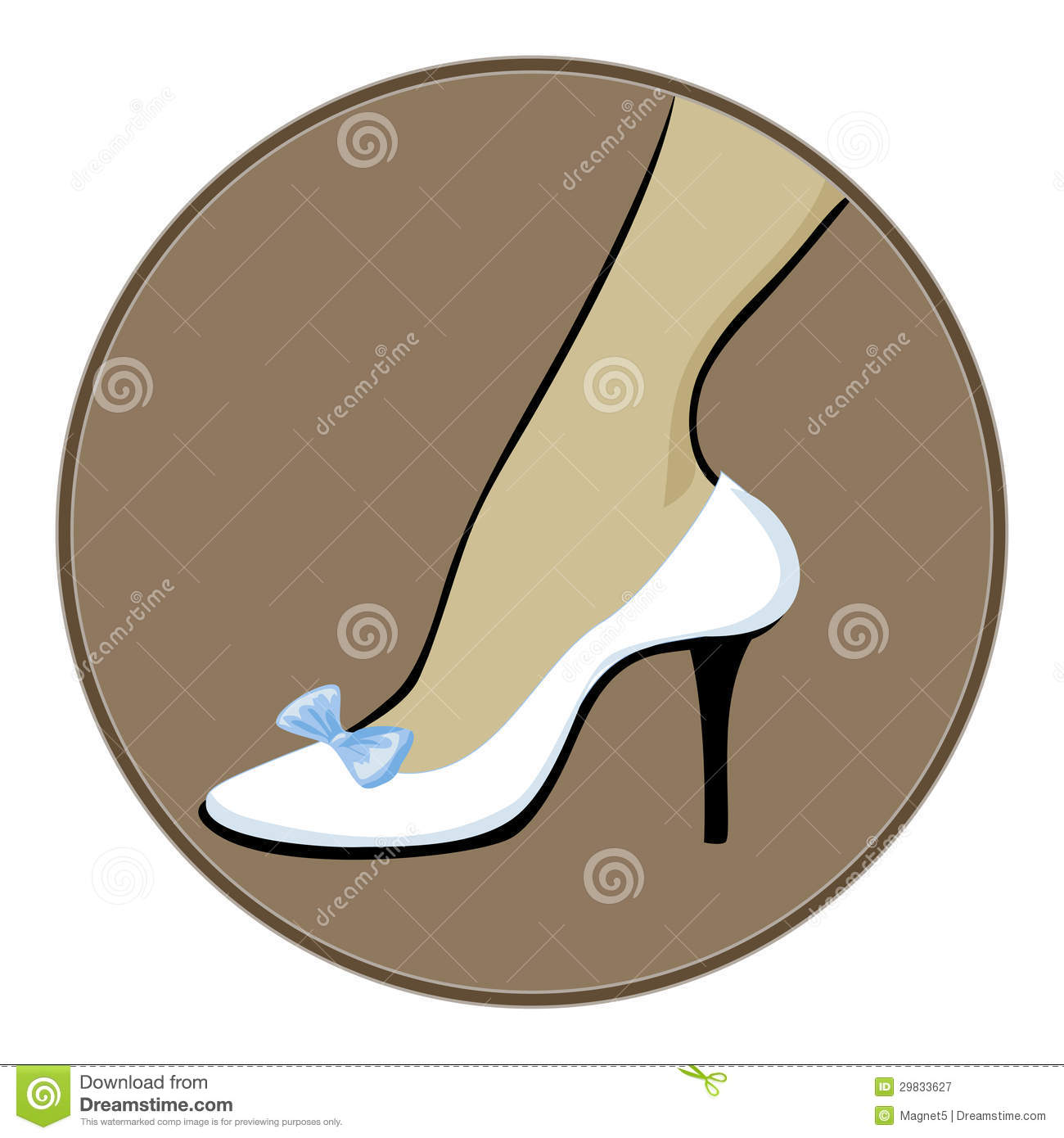 white shoes with blue bow royalty free stock photography