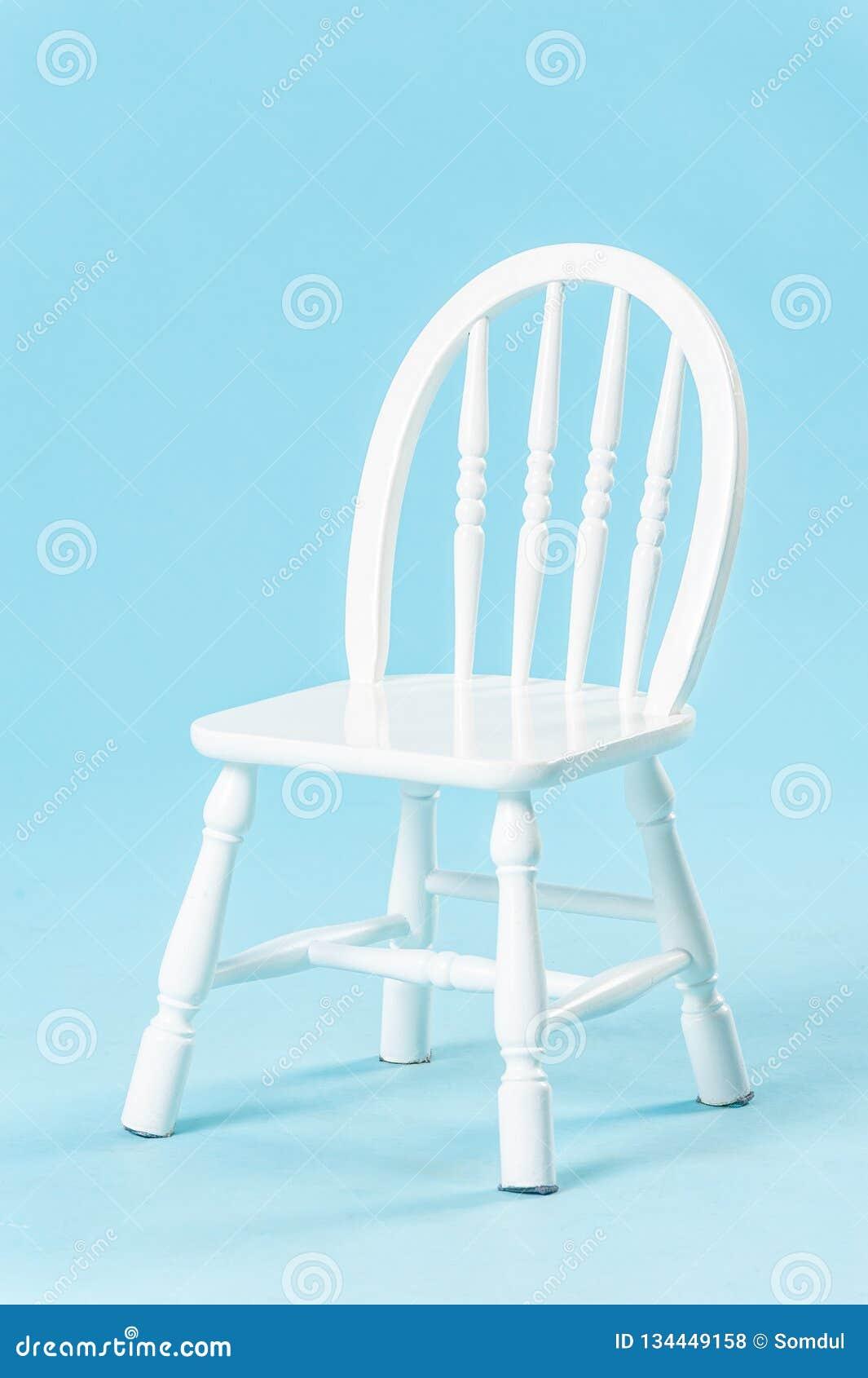 Awe Inspiring White Small Chair For Children Stock Photo Image Of Uwap Interior Chair Design Uwaporg