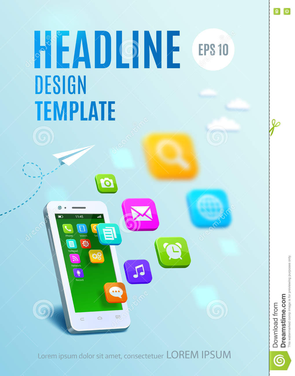 Book Cover Design App : Messaging cartoons illustrations vector stock images