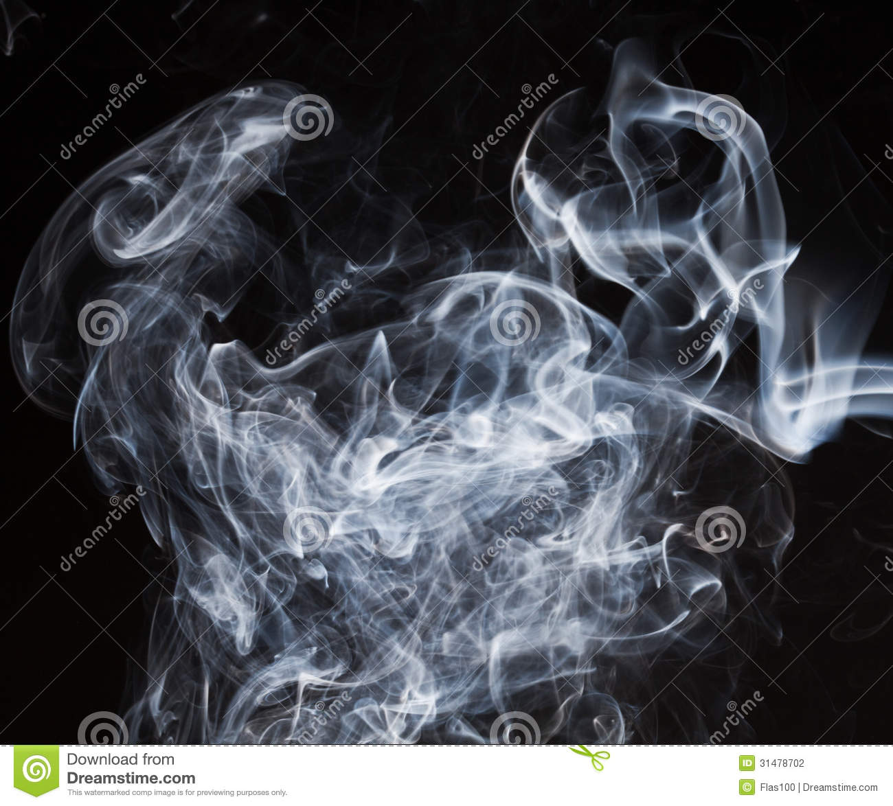 White Smoke Stock Photography - Image: 31478702