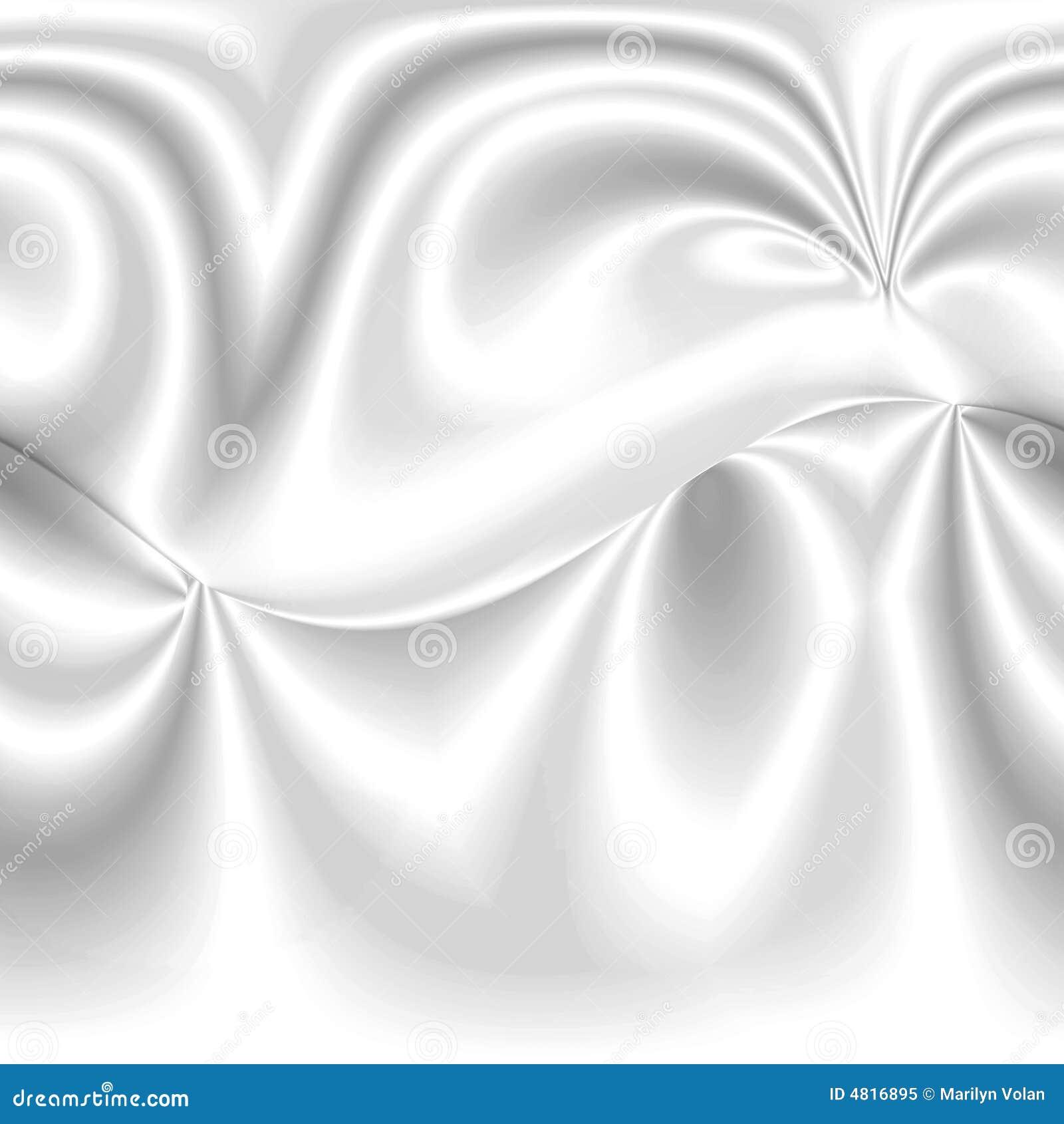 White Smooth Satin Background Royalty Free Stock Photo