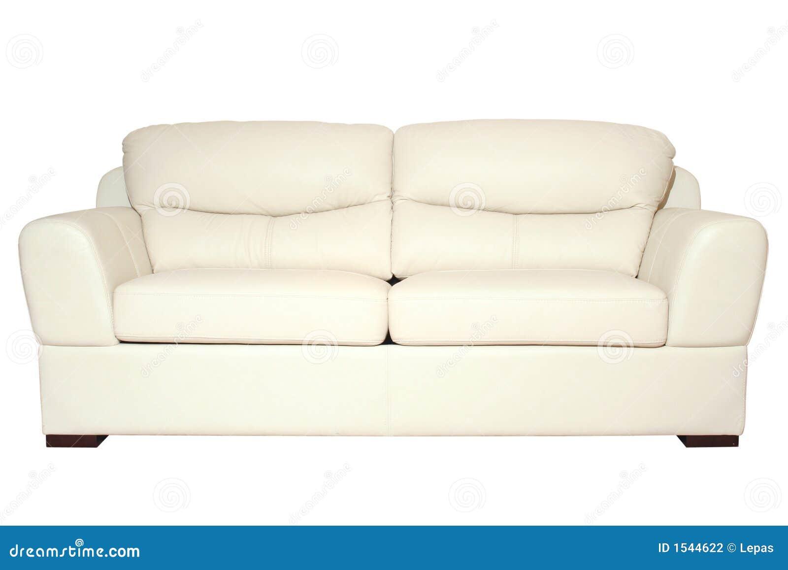 White Sofa Stock Photography Image 1544622