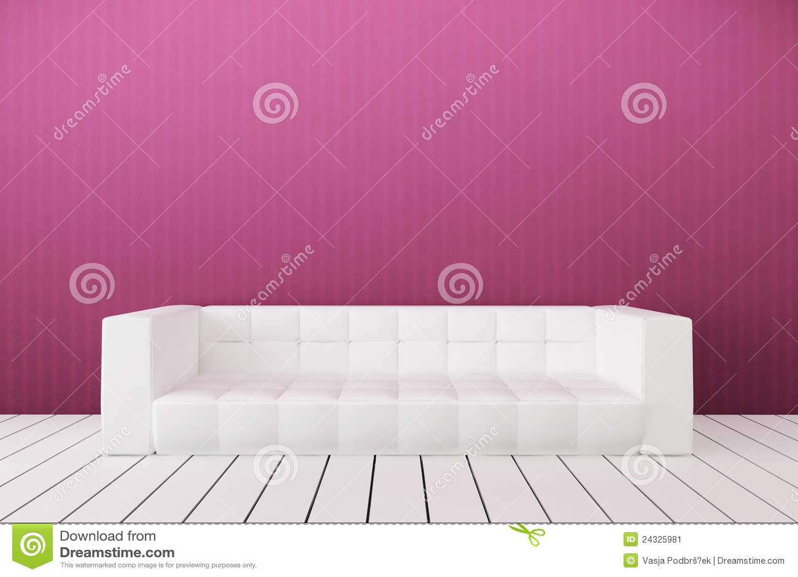 White Sofa Stock Image Image 24325981