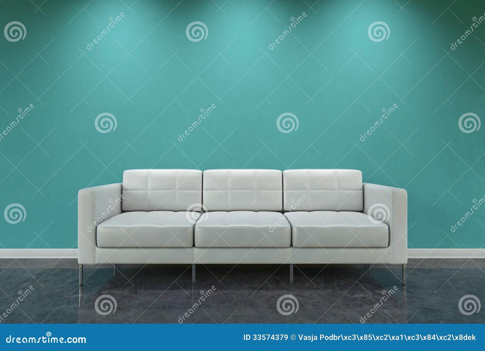 White Sofa Royalty Free Stock Images Image 33574379