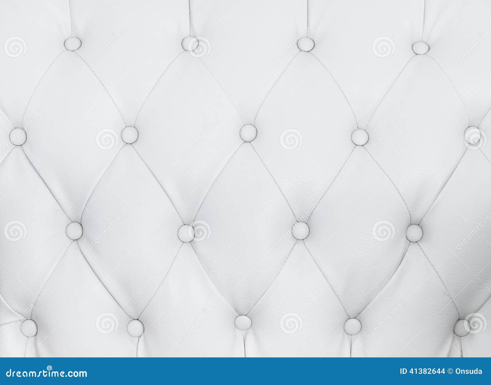 White Sofa Texture Stock Photo Image 41382644