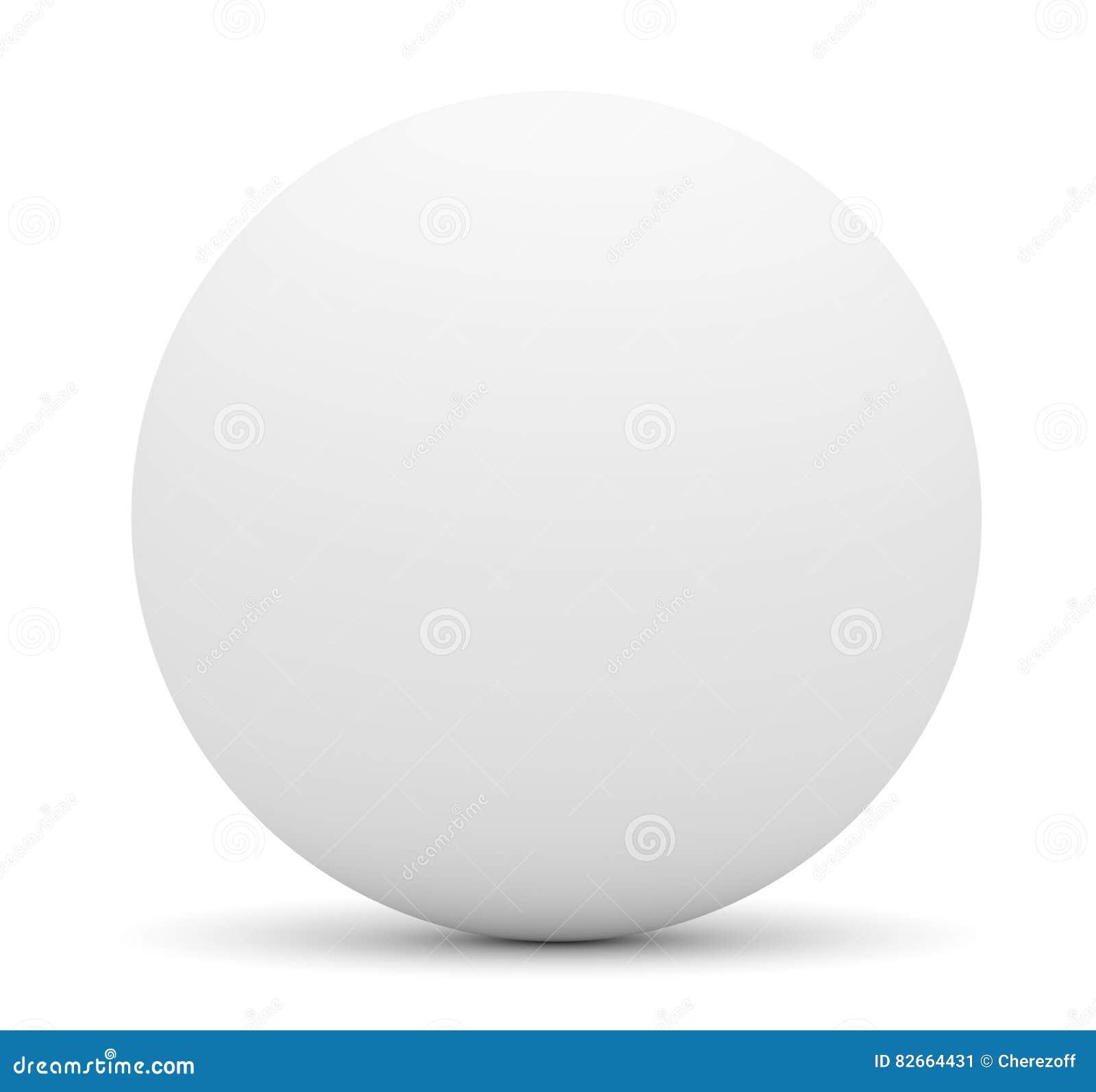 white sphere stock illustration illustration of plastic 82664431