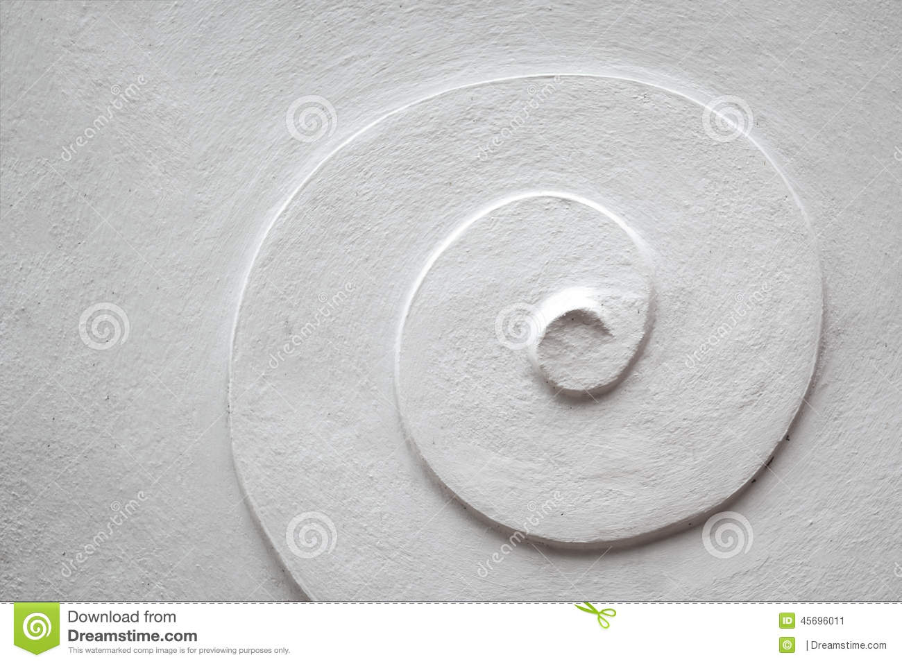 White spiral cement pattern stock photo image 45696011 for White cement art