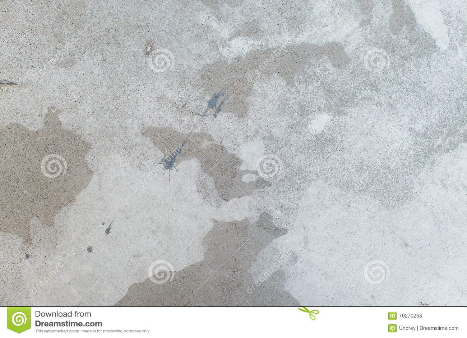 White splash on gray background concrete wall messy for White cement art