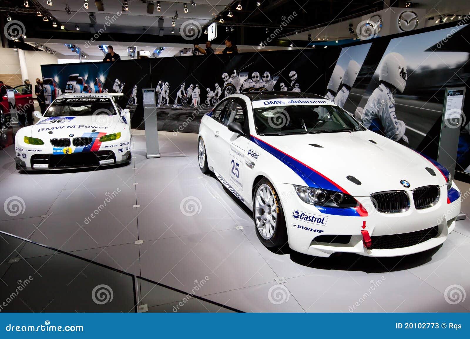 White Sport Car BMW