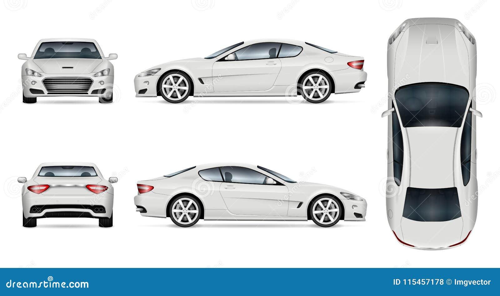 Vector car templates