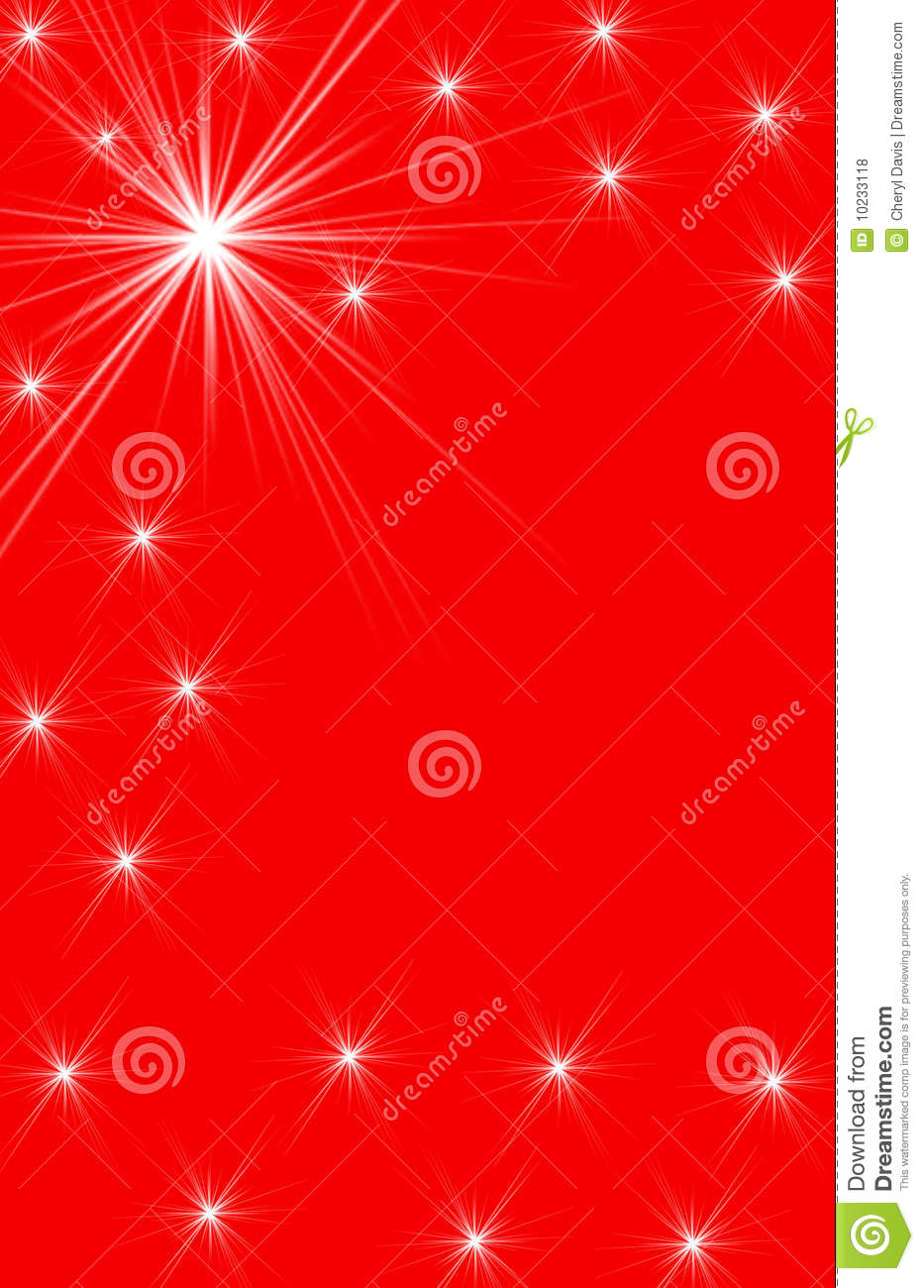 White Star Designs On Red Vertical Background Royalty Free ...