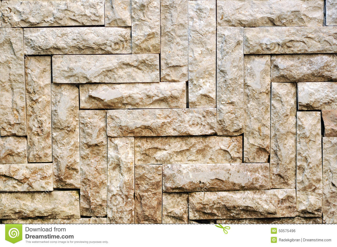 White Stone Tile Texture Brick Wall Backgrounds Stock