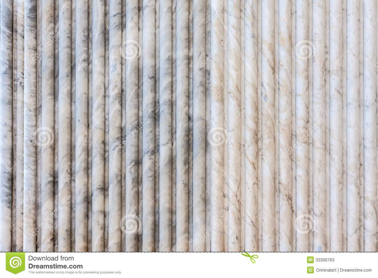 White Striped Marble Wall Stock Image Image Of Gray