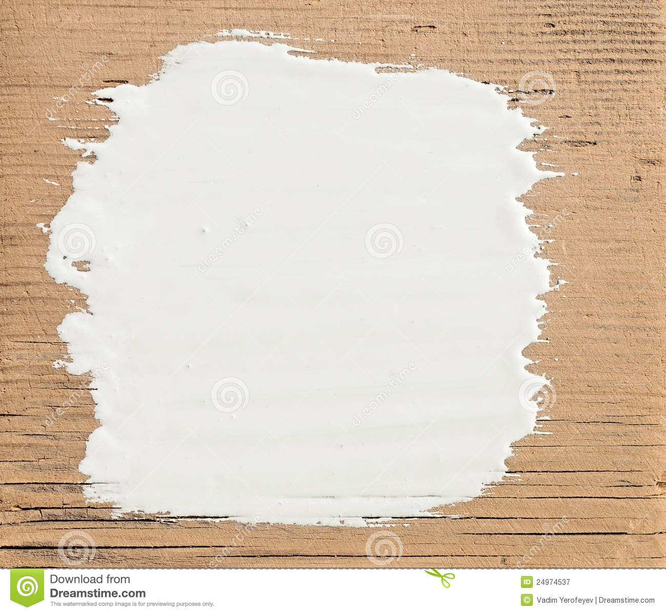 White Stroke Paint Royalty Free Stock Photography Image