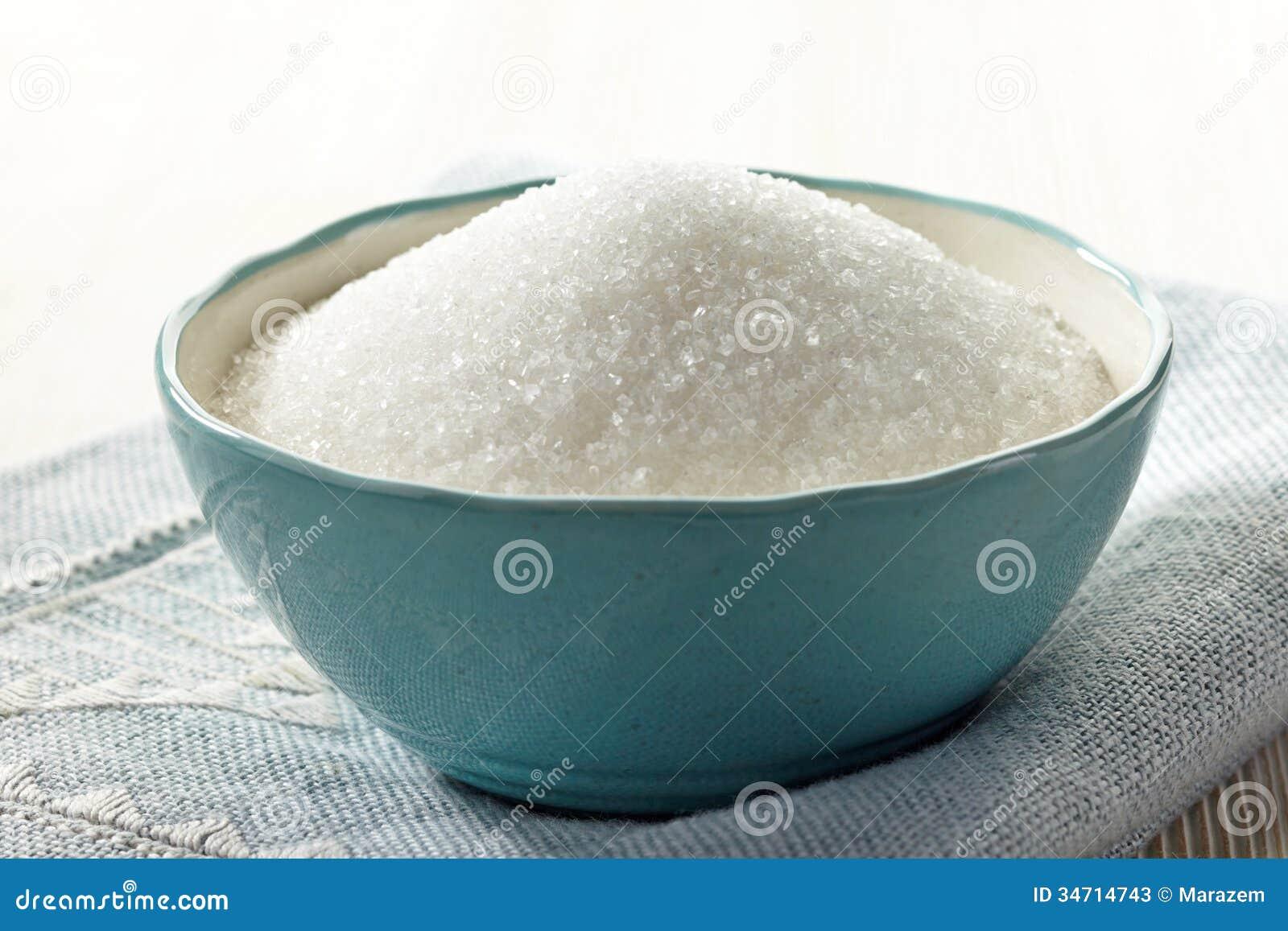 white sugar in a bowl stock photos  image  - blue bowl sugar