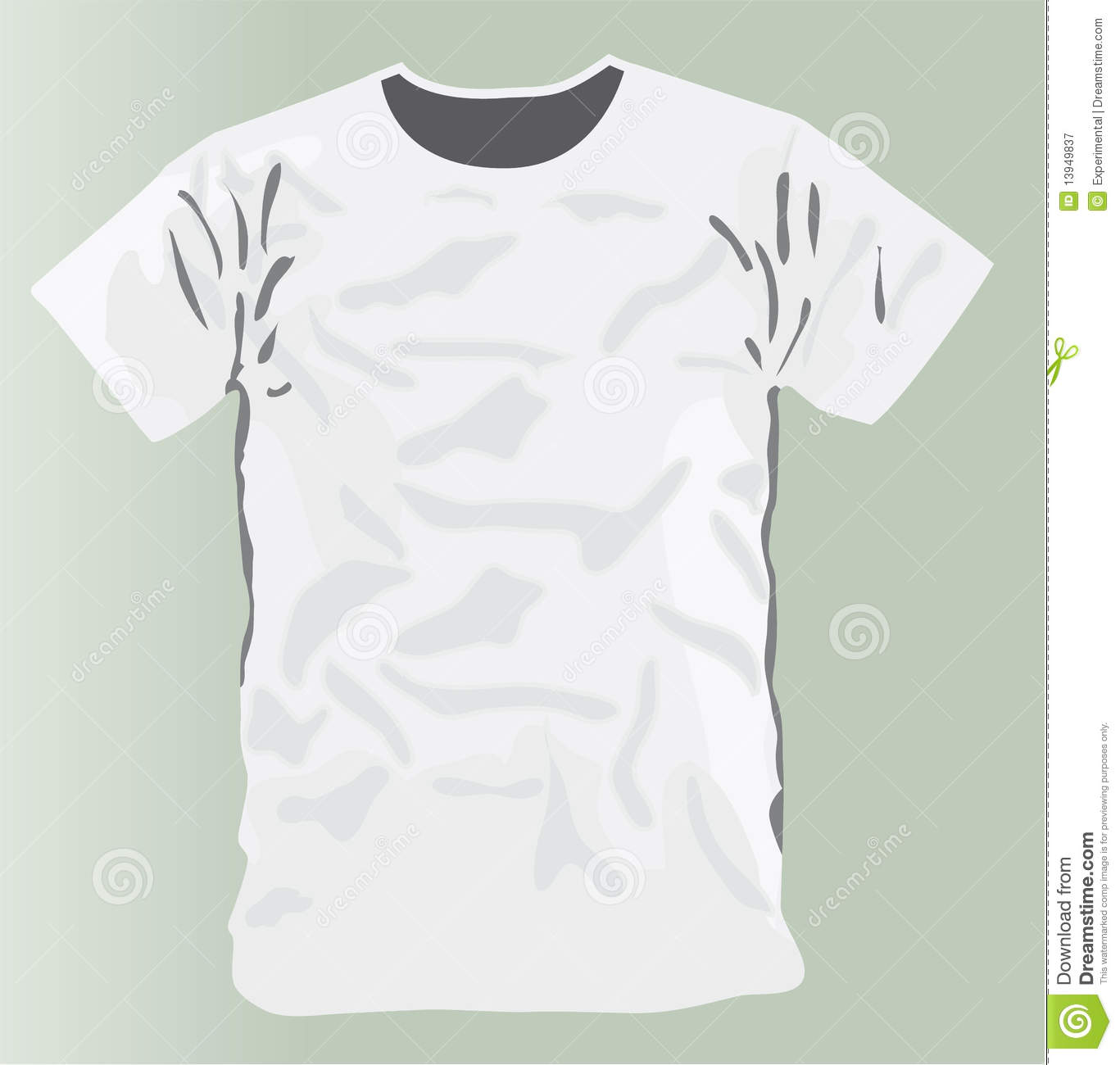 white t shirt design template royalty free stock photography image