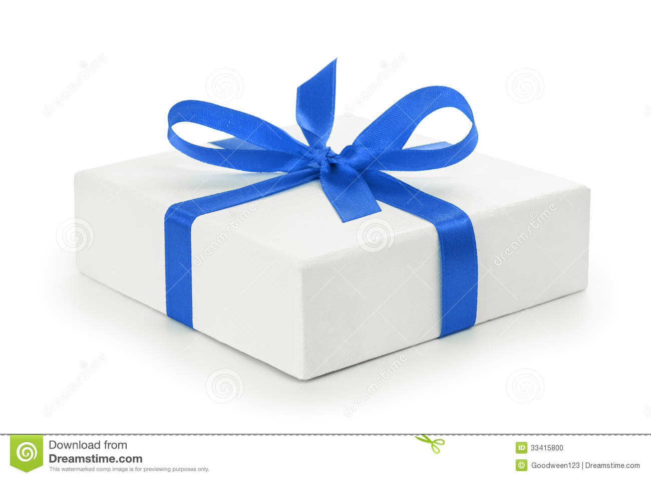 White textured gift box with blue ribbon bow stock photo image white textured gift box with blue ribbon bow negle Choice Image