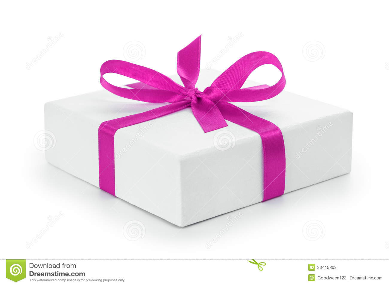 White textured gift box with purple ribbon bow  sc 1 st  Dreamstime.com & White Textured Gift Box With Purple Ribbon Bow Stock Image - Image ...