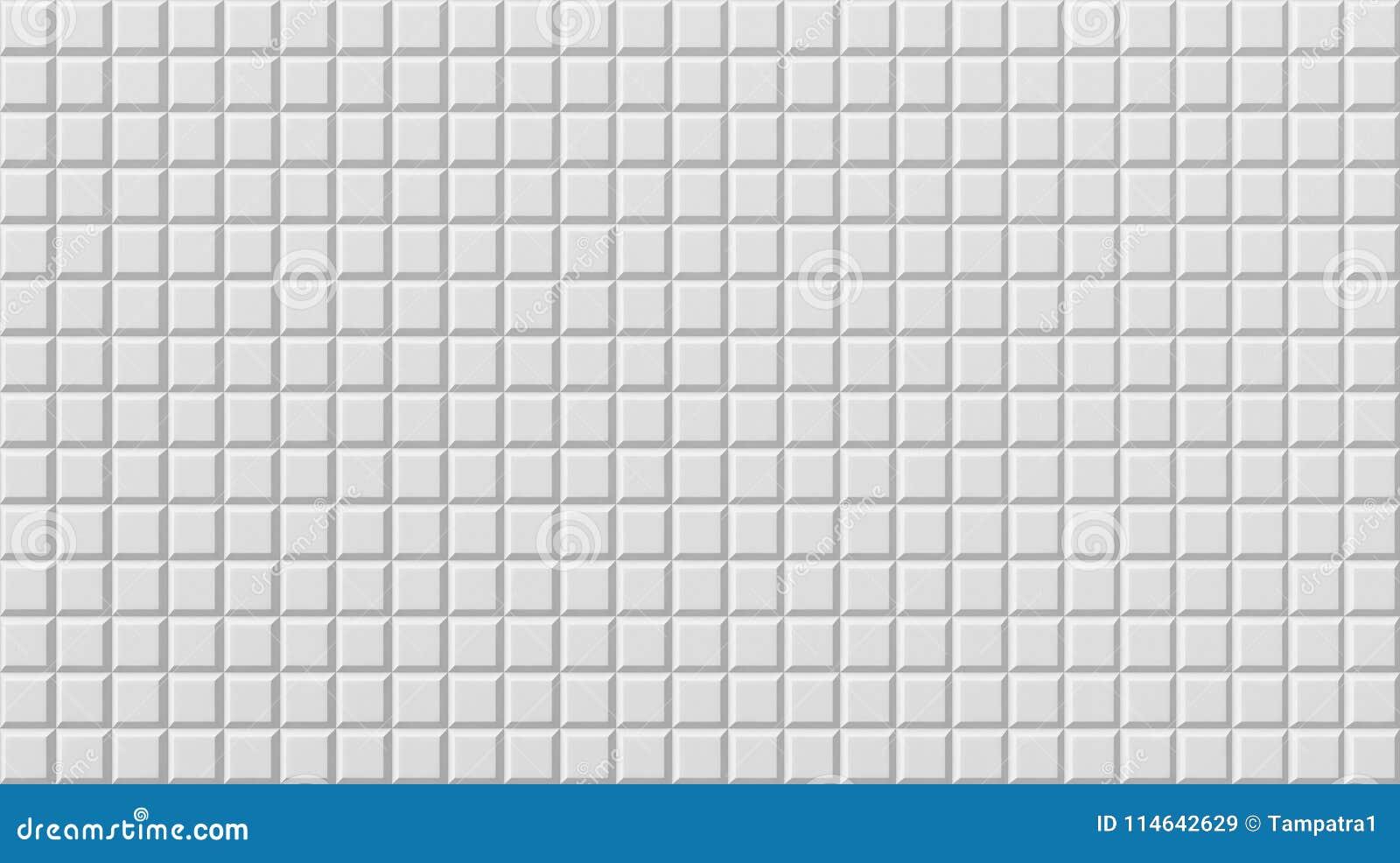 Download White Tile Flooring Seamless Texture Background 3d Stock Illustration