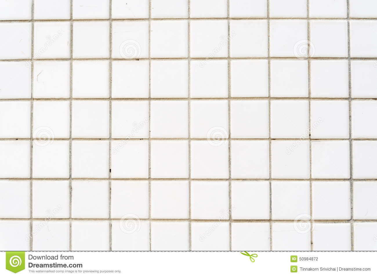 White Tile Wall Background Stock Photo 50984123 - Megapixl