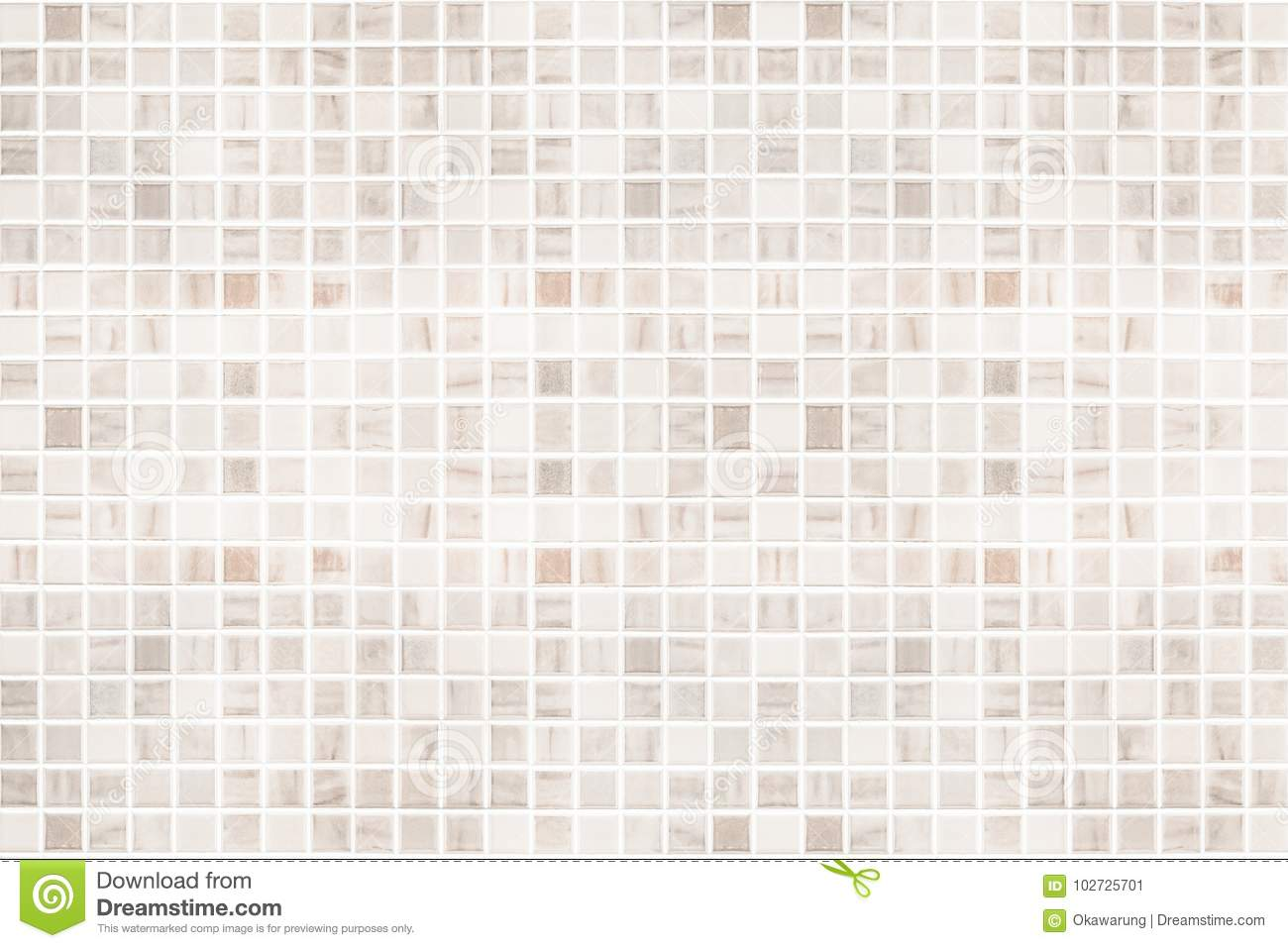 White Tile Wall Texture Background. Stock Image - Image of close ...