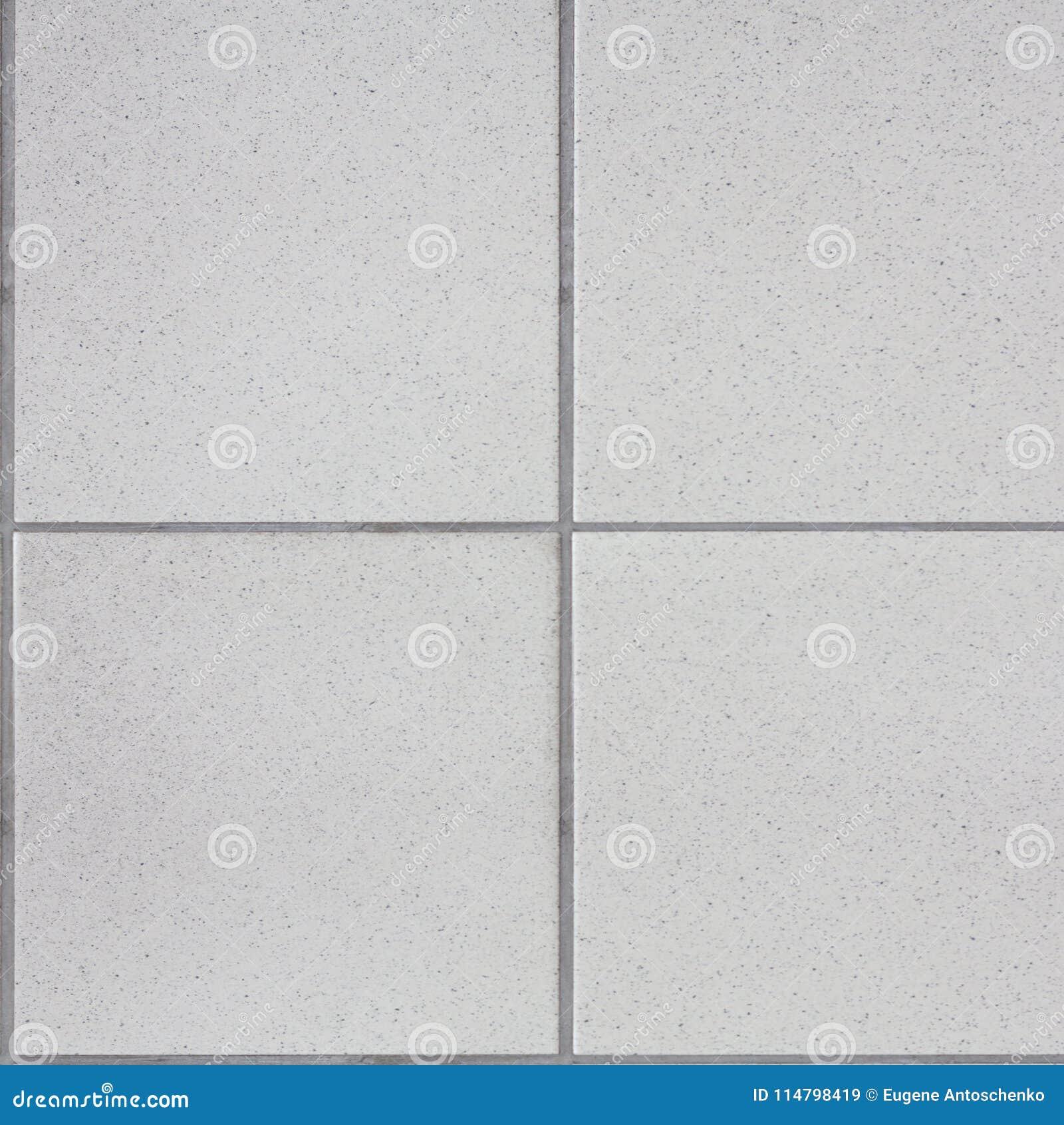 White Tiles Floor Seamless . Closed Up Of White Glossy Ceramic Brick ...
