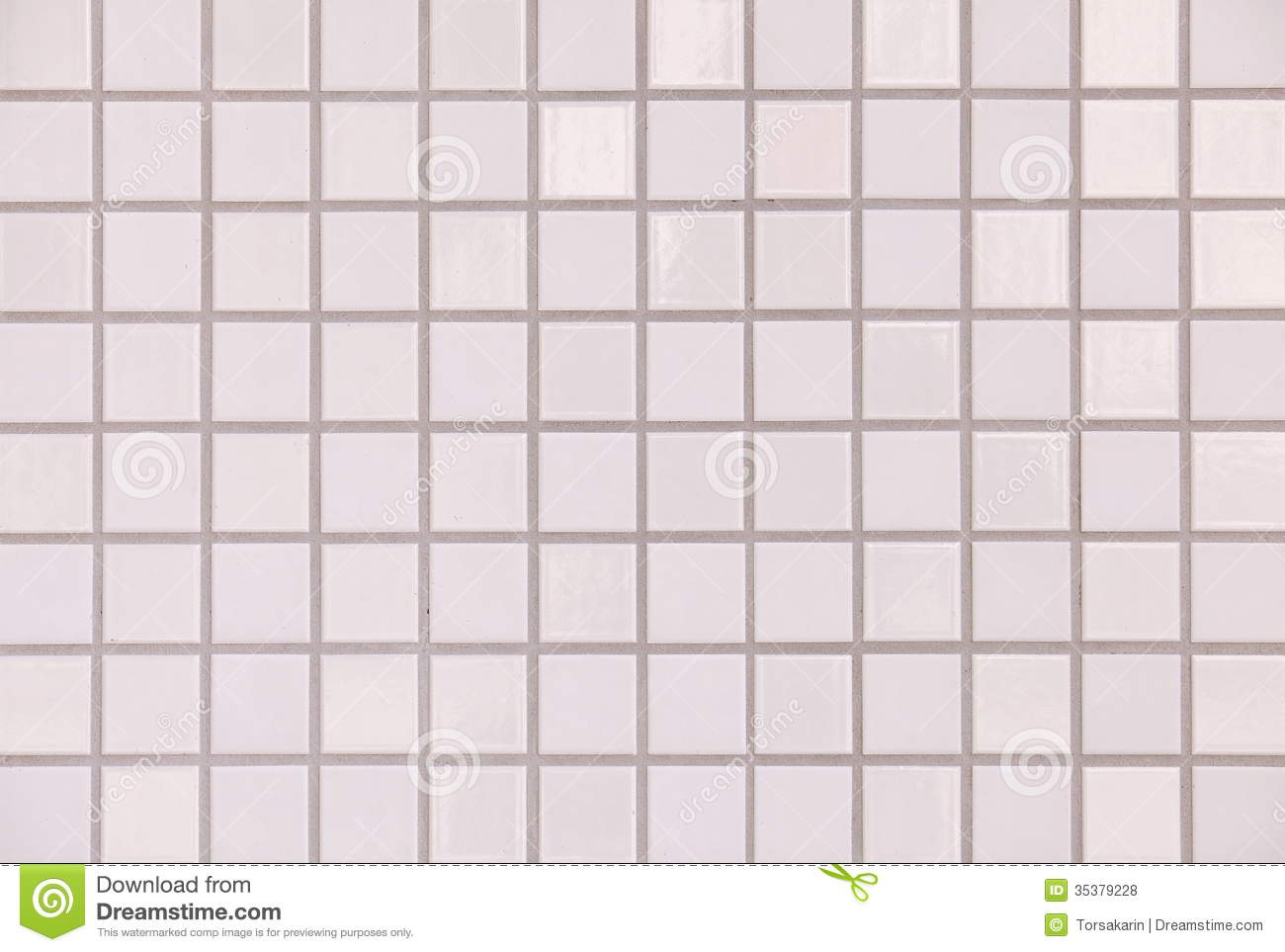 White Tiles Texture Seamless Stock Photo Image 35379228