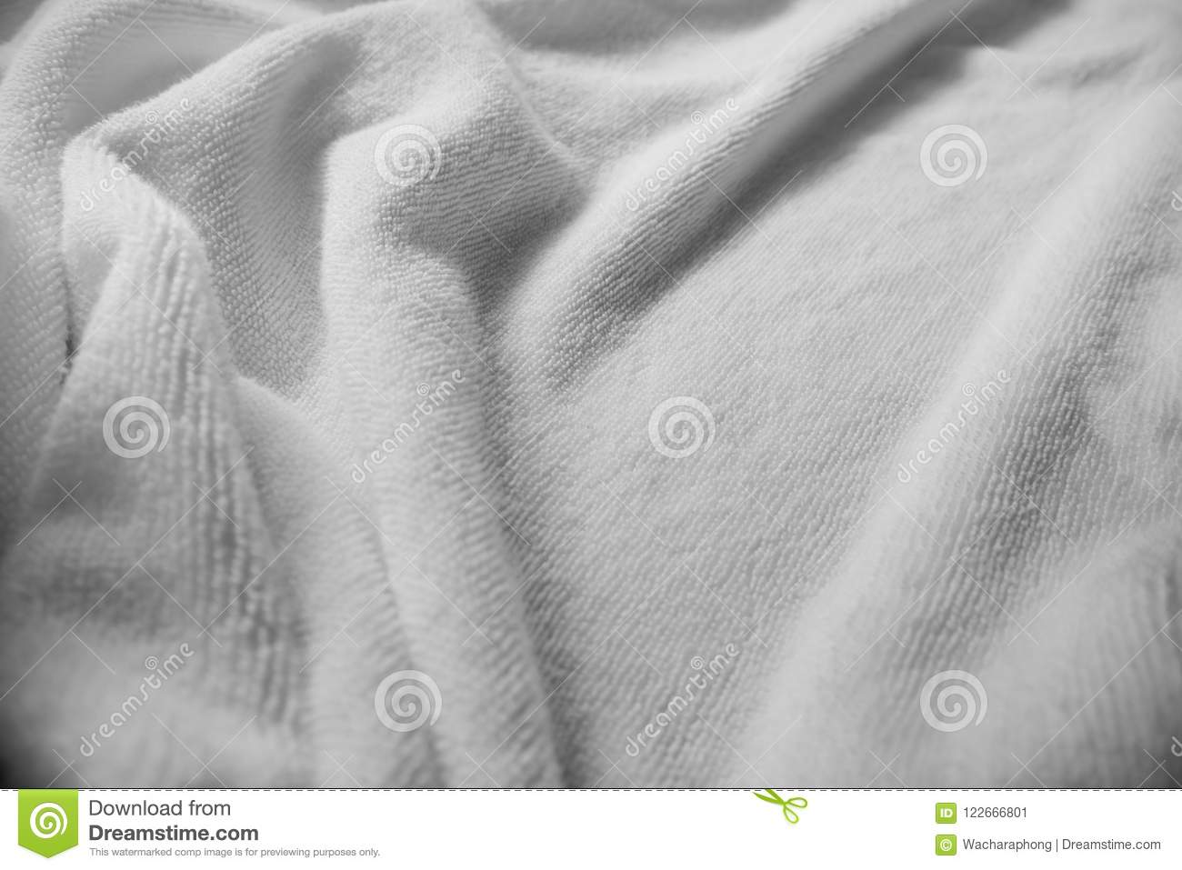 White towel texture. stock image. Image of beauty, design - 122666801