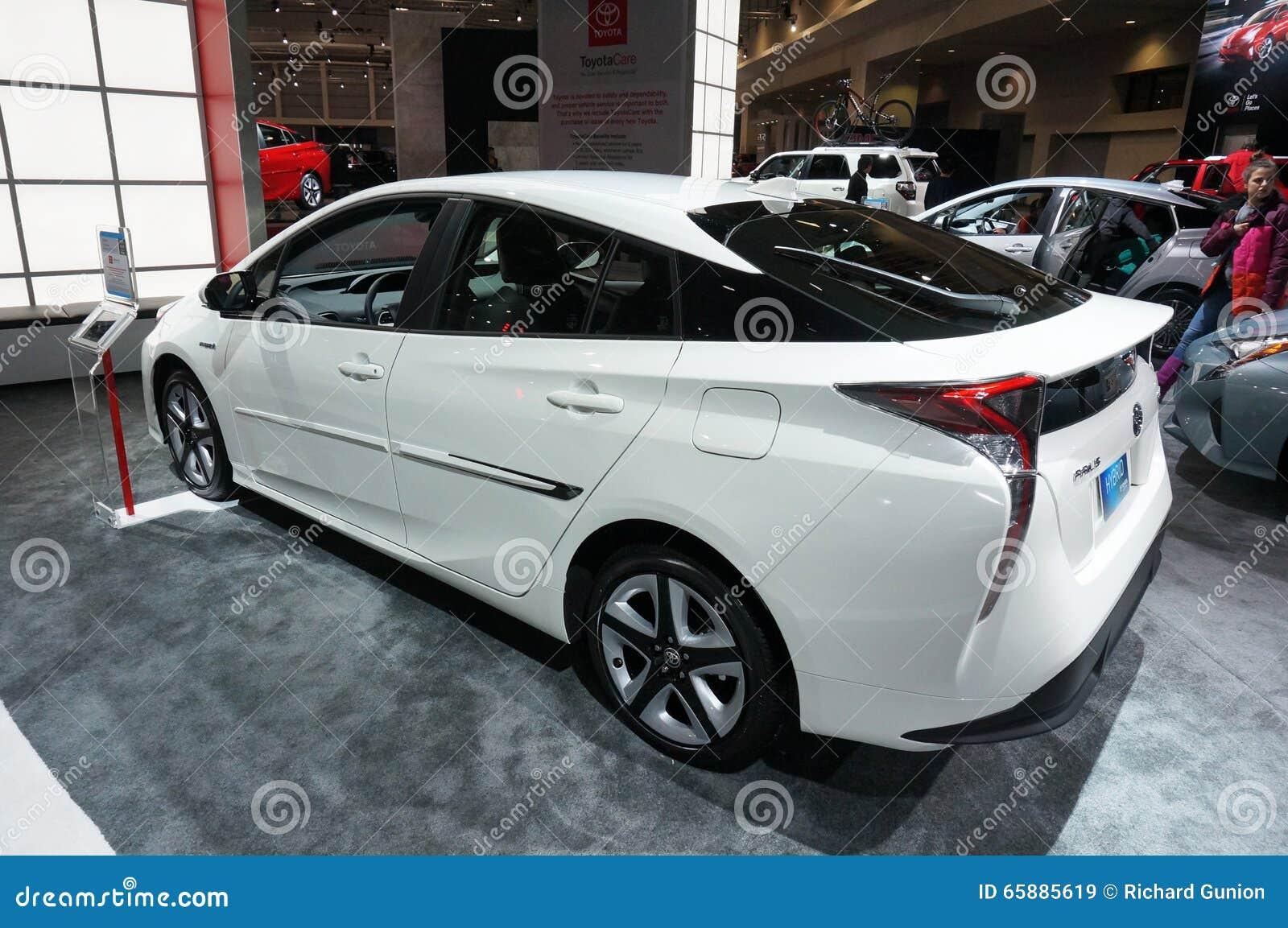 White Toyota Prius Editorial Stock Image Image 65885619