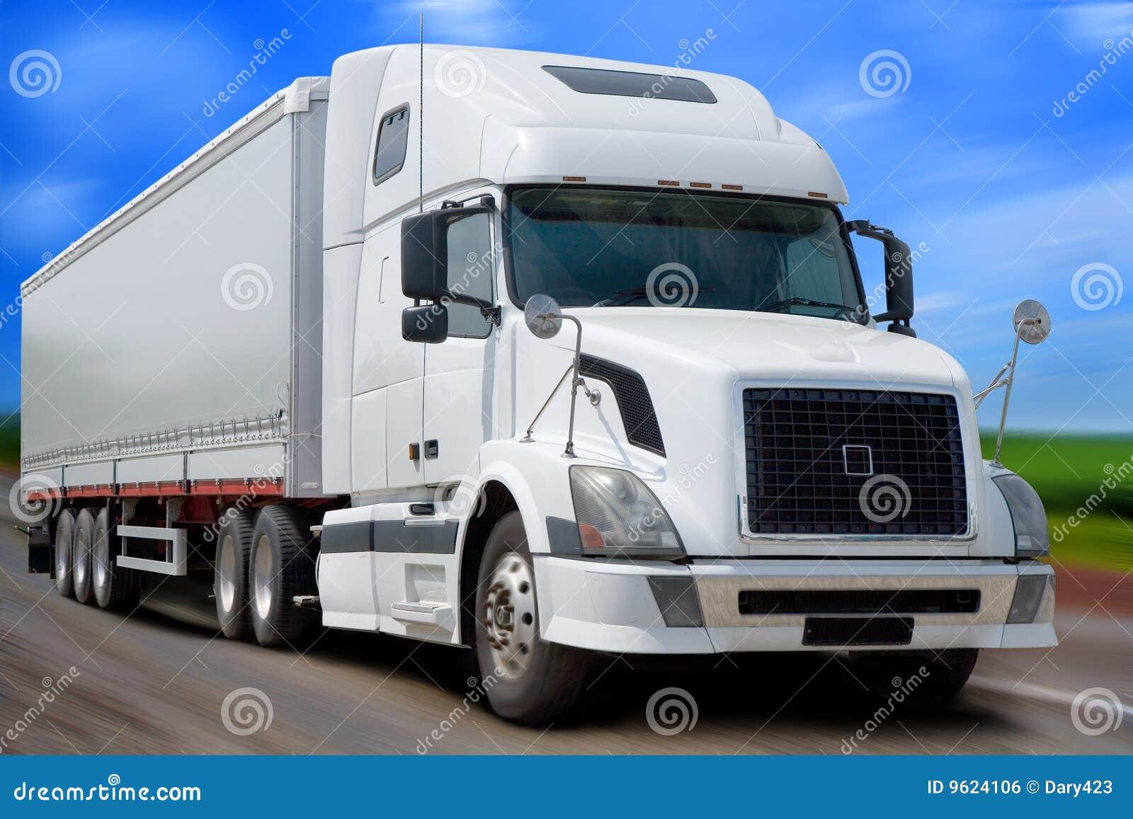 The white truck