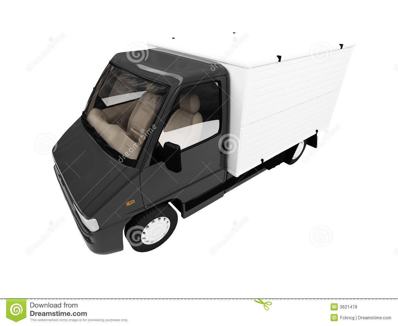 White Van Isolated Front View Royalty Free Stock Photos ...