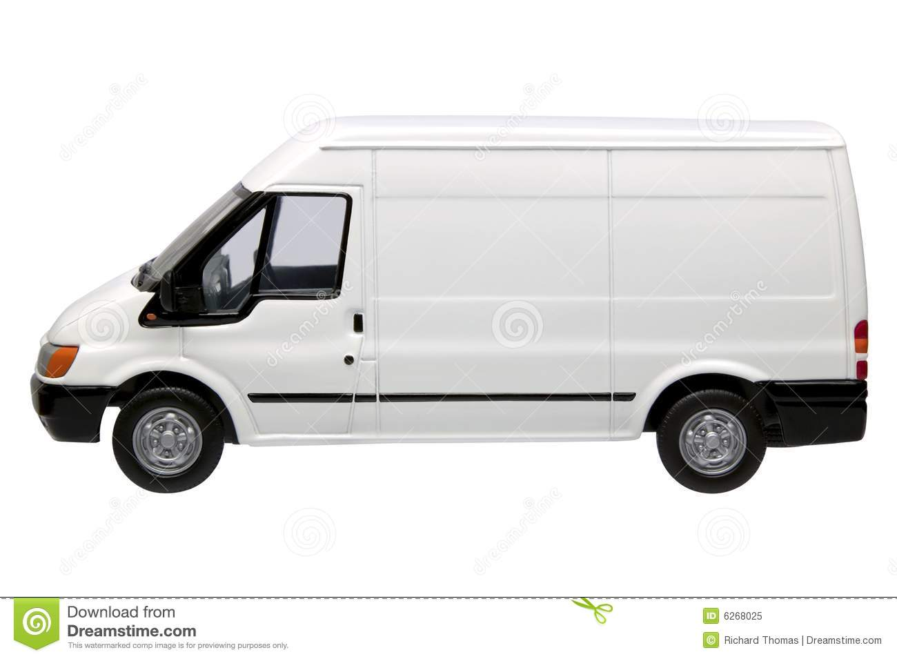de4ebbf00f White van side stock image. Image of mail