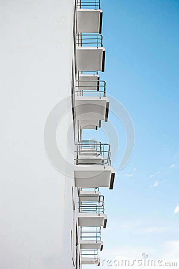 Download White Vents Under Clear Sky During Daytime Stock Photo - Image of perspective, angle: 84991672
