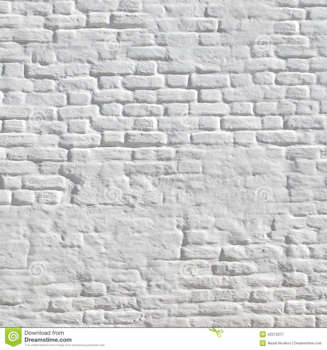 Hourwall Classicbrick Vintagewhite: White Vintage Brick Wall Stock Image. Image Of Rough