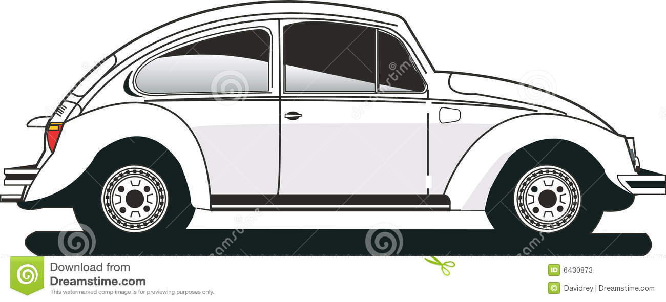 Volkswagen Beetle Stock Illustrations – 158 Volkswagen Beetle ...
