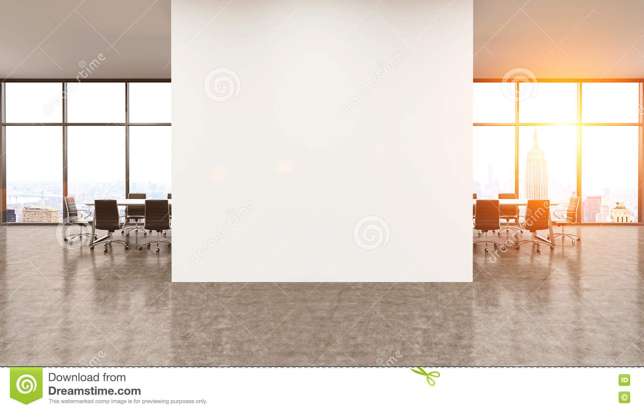 office wall pictures. White Wall In Modern Office. Stock Illustration - Of City, Filter: 75064914 Office Pictures N